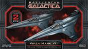 Battlestar Galactica 1/72 Scale Viper MKVII 2-Pack Model Kit