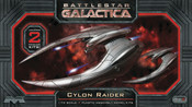 Battlestar Galactica 1/72 Scale Cylon Raider 2-Pack Model Kit