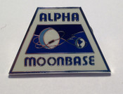 Space 1999 Moonbase Alpha Pin