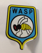 Stingray WASP Metal Lapel Pin