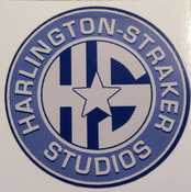 UFO Harlington Straker Studios Sticker