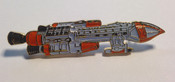 Space 1999 Hawk Lapel Pin - White Window