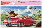 Thunderbirds - FAB 1 1/32 scale model kit