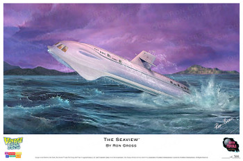 Voyage to the Bottom of the Sea - Seaview Print