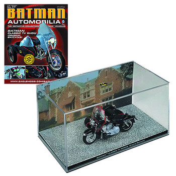 Batman TV Series Original Batcycle 1966 eaglemoss