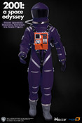2001: A SPACE OYSSEY VIOLET DISCOVERY ASTRONAUT 1/6TH SCALE SPACE SUIT