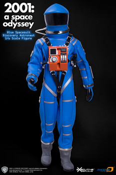 2001: A SPACE ODYSSEY BLUE DISCOVERY ASTRONAUT 1/6TH SCALE SPACE SUIT