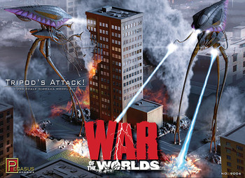 War of the Worlds - 2005 Tripod's Attack Model Kit