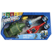 Thunderbirds Are Go Vehicle Super Set - 4 Piece