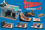 Thunderbirds Pod Vehicles Konami Trading Figures - Vol. 2