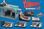 Thunderbirds Pod Vehicles Konami Trading Figures - Vol. 2