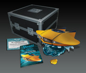 1:32 Diecast Flying Sub from Voyage To The Bottom Of The Sea with Lights, Sounds and a Remote Control
