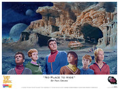 "Lost In Space - ""No Place to Hide"" Print"