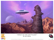 Lost In Space - Impact on the Lost Planet - Print
