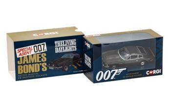 James Bond Aston Martin V8 Vantage Volante 'The Living Daylights' (CC04804)