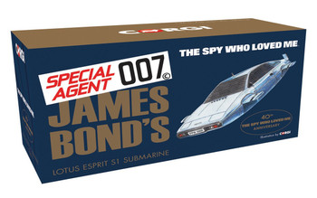 James Bond Lotus Esprit 'The Spy Who Loved Me' - Corgi Die-Cast