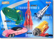 Thunderbirds Movie Capsule Toy Set