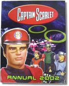 Captain Scarlet Annual 2002 Book