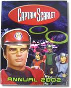 Captain Scarlet Annual 2002 Book
