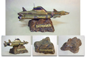 UFO - Display Base for Diecast Skydiver