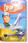 Captain Scarlet - Mini Diecast Spectrum Passenger Jet