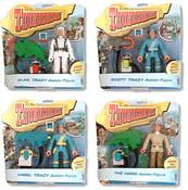 Thunderbirds 40th Anniversary Action Figures