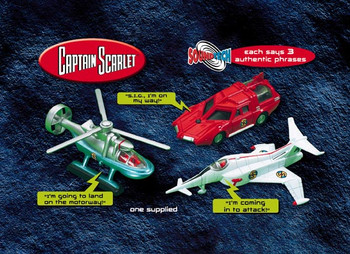Captain Scarlet - Soundtech Spectrum Vehicle Collection