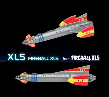 Fireball XL5 - Konami Trading Model