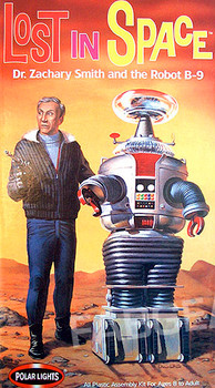 Lost in Space - Dr. Smith & B9 Robot Model Kit - Polar Lights