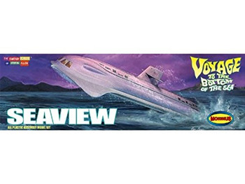 Seaview 1:350 Scale Model By Moebius