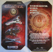 Battlestar Galactica - Fridge Magnet Set 1