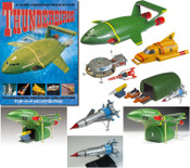 Thunderbirds -F-Toys Mechanic Collection Trading Vehicles