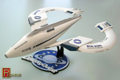 Galaxy Quest - Pre-finished NSEA Protector Ship Model