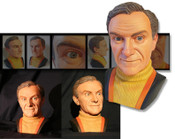Lost in Space - Dr. Smith 3/4 Scale Bust available at Fabgearusa.com