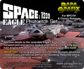 Space 1999 Eagle 1 Photoetch Set