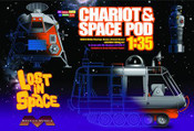 Lost in Space- 1:35th. Scale Chariot & Space Pod Model Kit Set