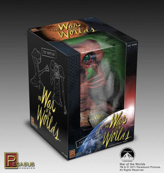 War of the Worlds 1953 PreBuilt Martian Figure