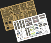 Flying Sub Interior Photoetch Combo Pack