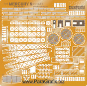 Mercury 9 Rocket Photoetch Set
