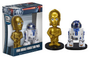 Star Wars C-3PO & R2-D2 Ultra-Mini Bobble Head 2-Pack