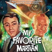 My Favorite Martian CD