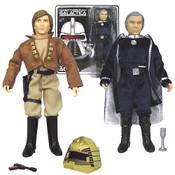 Battlestar Galactica Lt. Starbuck & Cdr. Adama Figures
