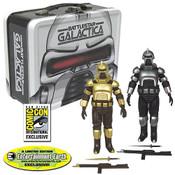 Battlestar Galactica Cylons w/Tin Tote