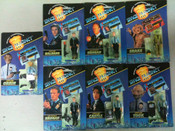 Space Precinct Action Figures - Set of 7
