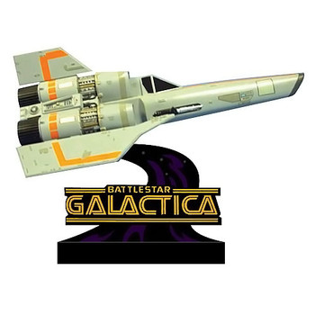 Battlestar Galactica Viper Monitor Mate Bobble Head