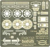 Battlestar Galactica Viper Mk 2 Photoetch & Decal Set (PGX125)