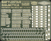 Battlestar Galactica Photoetch & Decal Set (PGX133)