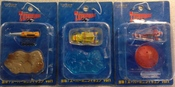 Thunderbirds Mini Trading Figures Set of 3