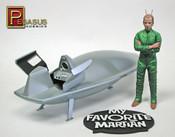 My Favorite Martian Spaceship & Uncle Martin (Pre-Built)