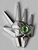 Logan's Run Lapel Pin - Green